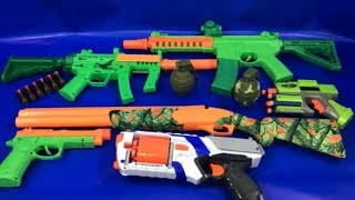 Box of Toys Toy Guns NERF Guns Compilation Toys for Kids