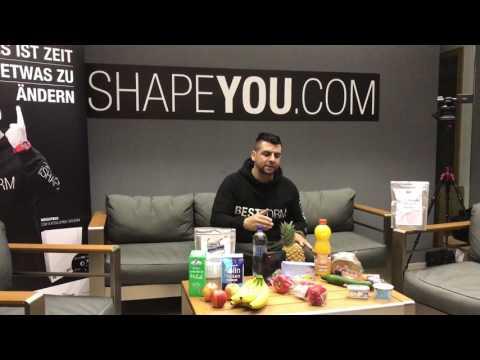 ishapeyou | Bestform Ernährung | individuell wird es durch den Ernährungsplan