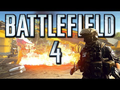 Battlefield 4 Online Funny Moments - Old Cannon Fun, Boat Glitches and BIG Explosions! (Funtage)