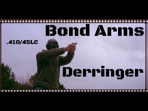 Bond Arms 410 & 45LC Texas Defender Derringer Review (HD)