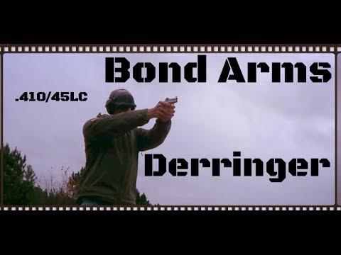 Bond Arms 410 & 45LC Texas Defender Derringer Review (HD)