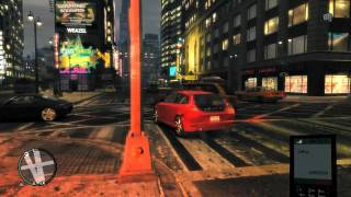 GTA 4 Gameplay HD GF GTX 580 Ultimate Textures v2 + Car Pack v6.2 by Seba Part 1