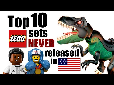 Top 10 LEGO Sets NEVER Released in the United States!