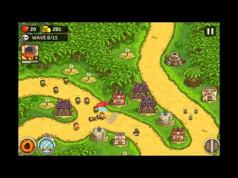 Kingdom Rush Frontiers - Crimson Valley 3 Stars E7