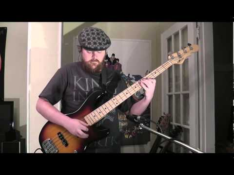 Daft Punk - get Lucky - Bass Cover video