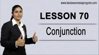 English Grammar : Conjunction, kinds of conjunction, conjunction in hindi/punjabi