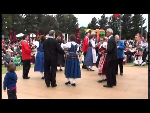 Swiss folk dance group Alpenrose (Swiss Festival 2011) - Part 2
