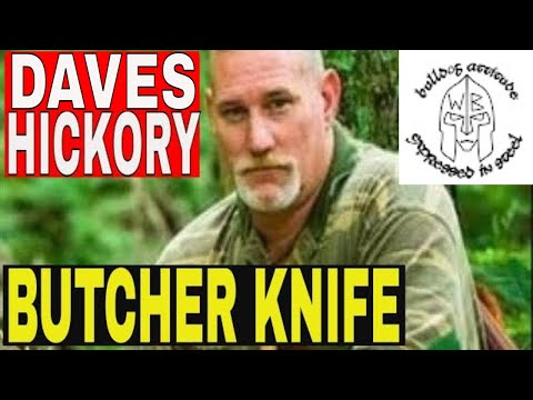 Dave Canterbury Inspired Common Man Purchase, Old Hickory Butcher Knife 7