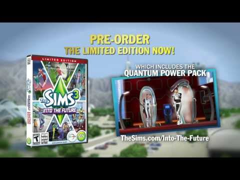 The Sims 3: Into The Future Gameplay - Quantum Power Pack
