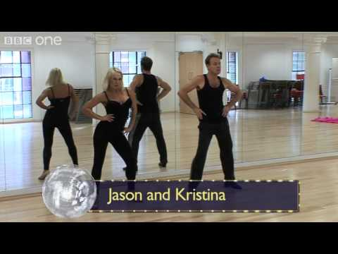 More about this programme: http://www.bbc.co.uk/strictly The Strictly stars are back rehearsing once again and we have exclusive footage straight from the tr...