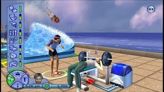 The Sims 2 PS2 Gameplay HD (PCSX2)