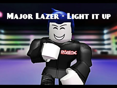 Major Lazer - Light it up (ROBLOX MUSIC VIDEO)