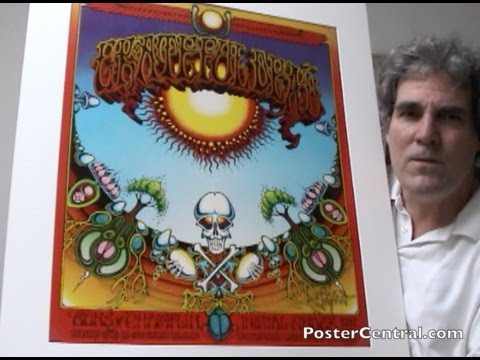Grateful Dead Concert Poster 1969 Aoxomoxoa by Rick Griffin