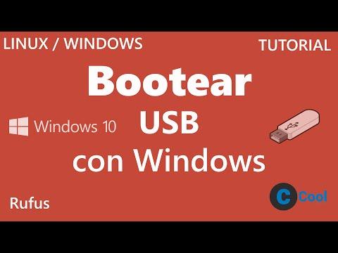 Como crear USB Booteable con Windows 10, 8.1, 8, 7 y Linux | Rufus | TUTORIAL | CoolMach