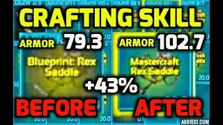 Ascended gaming viyoutube new crafting skill explained and tested on rex blueprint official server malvernweather Choice Image