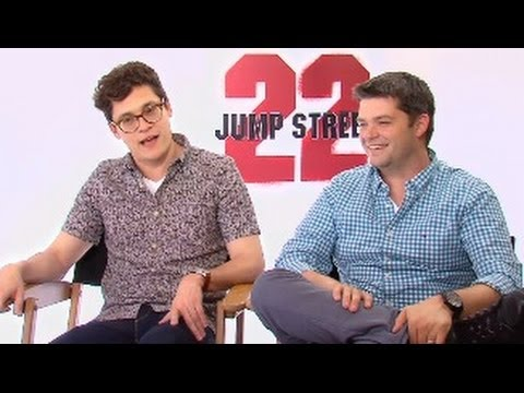 22 JUMP STREET - Chris Miller & Phil Lord Interview