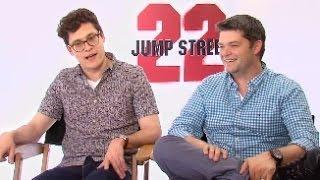 22 JUMP STREET - Chris Miller & Phil Lord Interview