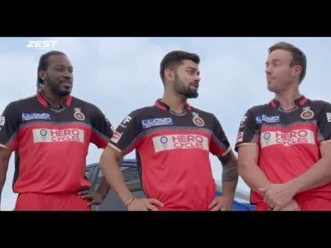 Zest From Tata Motors TVC with RCB