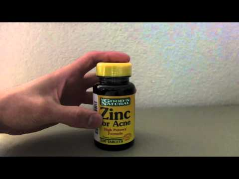 GOOD 'N NATURAL ZINC FOR ACNE REVIEW