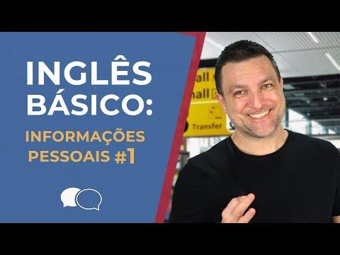 Aula de ingles Basico 1 - Informações Pessoais
