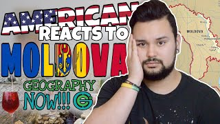 American REACTS // Geography Now! Moldova