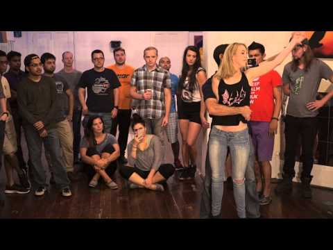 Eddie Bonnell and Karrie Finn - Wednesday Zouk Class - Cronus Only For You
