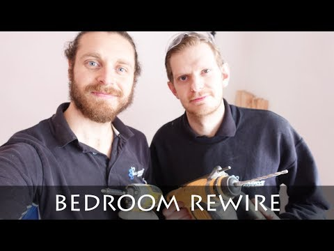A DAY IN THE LIFE OF AN ELECTRICIAN | BEDROOM REWIRE | DOMESTIC ELECTRICIAN
