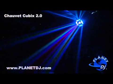 Chauvet CUBIX 2.0 Multicolored LED Centerpiece Effect Light