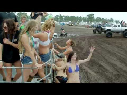 4X4 Trucks MUD BOGGING with BOTTLENECK THROW SOME MUD ON IT by MuddFreak and RedNeck Nation