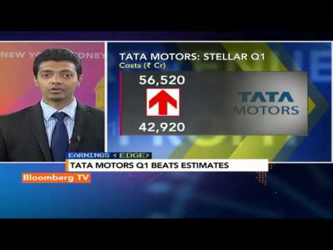 Earnings Edge-Tata Motors Q1 Beats Estimates