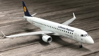 Revell Embraer 190 Lufthansa assembly