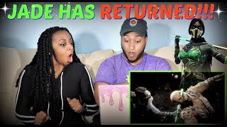 Mortal Kombat 11 Official Jade Character Reveal Trailer REACTION!!!