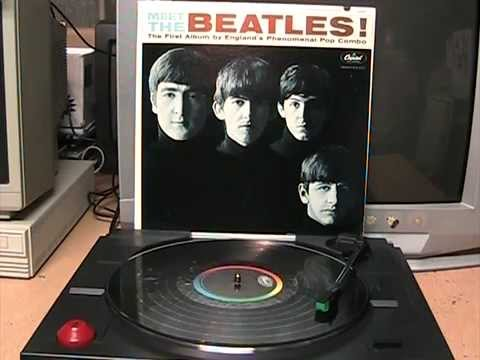 Meet The Beatles! 1964 MONO LP Full Side 1