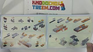 Hướng dẫn lắp ráp Gao Bo Le GBL KY98201 Lego Creator 10233 Horizon Express giá sốc rẻ nhất