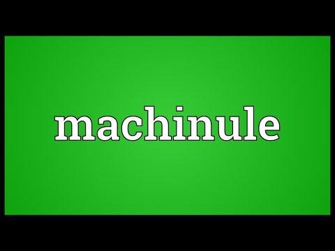 Header of machinule