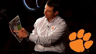 Dabo Swinney Relives Days at Alabama Through Photos