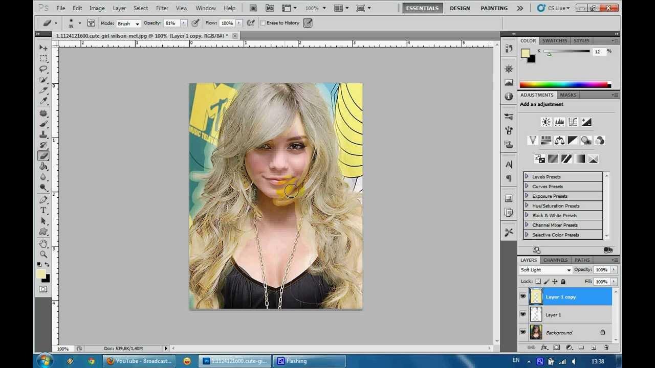 Как сделать свое фото на доске