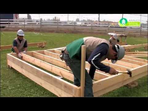 05 como hacer piso de youtube for Como construir un kiosco en madera