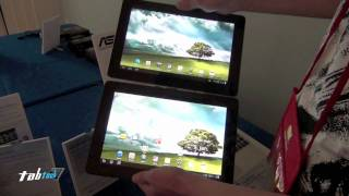Asus Eee Pad Transformer Prime TF700 vs. TF200 - live @ CES 2012 english