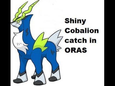 Pokemon cobalion shiny