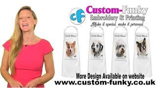 Customised Dog Aprons 💕 Free UK Delivery 💕 custom-funky.co.uk