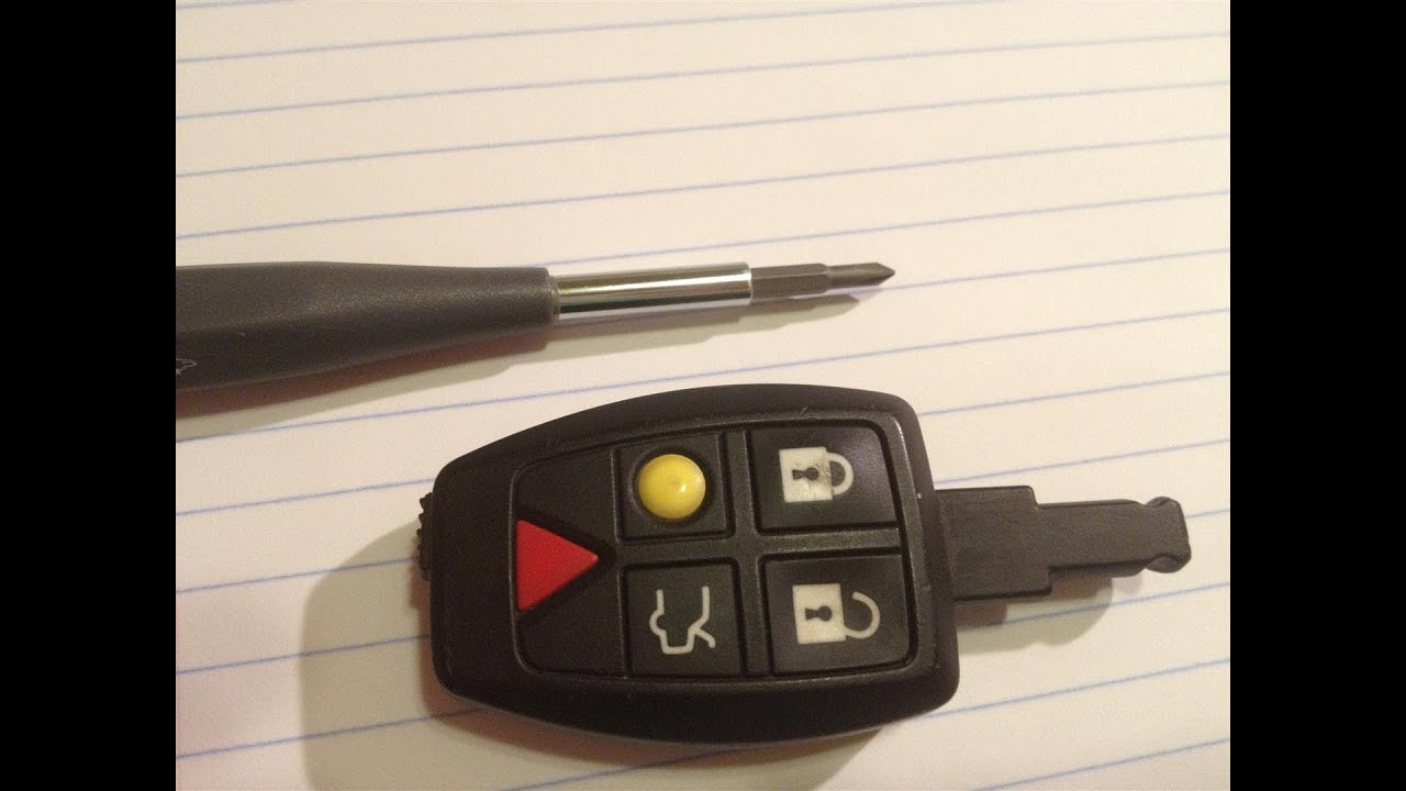 Volvo S Car Key Battery Replacement