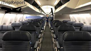 United 737-9 MAX Inaugural Flight First Class