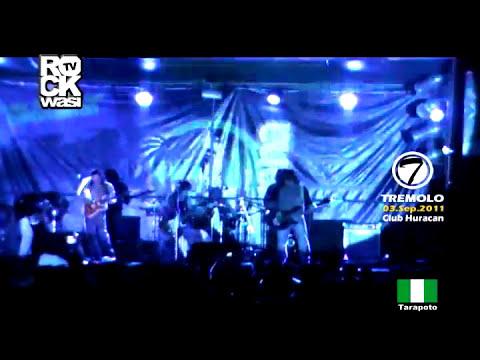 TREMOLO - MARCHATE ( DVD TARAPOTO 2011 ROCKWASI RECORDS )