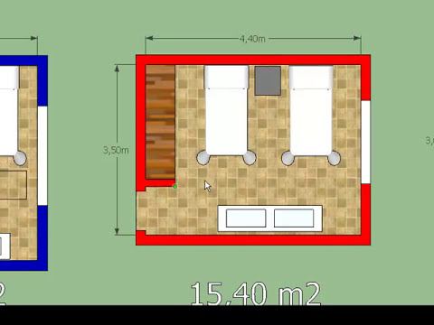 ¿Cómo Diseñar un Dormitorio? ¿Qué medidas debe tener?