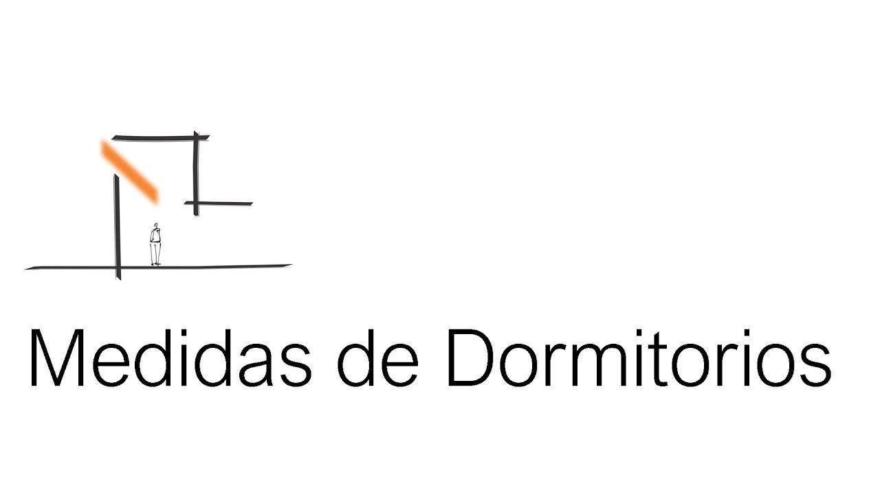Medidas Baño Estandar:Cómo Diseñar un Dormitorio? ¿Qué medidas debe tener? – YouTube