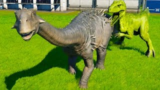 Can Anything Kill The Ankylodocus in Jurassic World Evolution