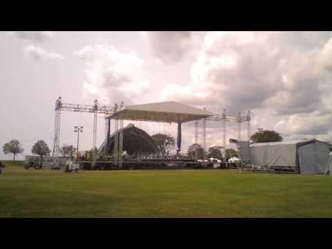 Vibes 2014 Stage Setup