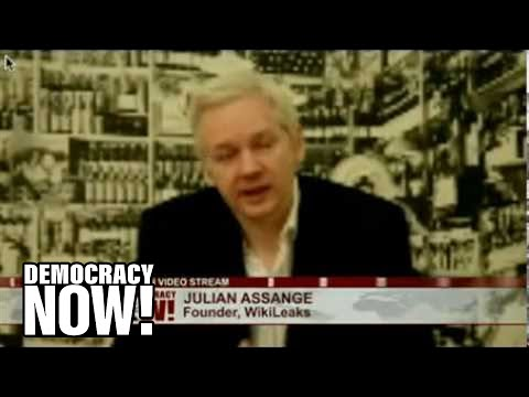 EXCLUSIVE: Julian Assange on WikiLeaks, Bradley Manning, Cypherpunks, Surveillance State