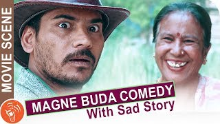 Magne Buda (माग्ने बुढा) Full Comedy Halka Ramailo   Nepali Movie Comedy   Chhakka Panja